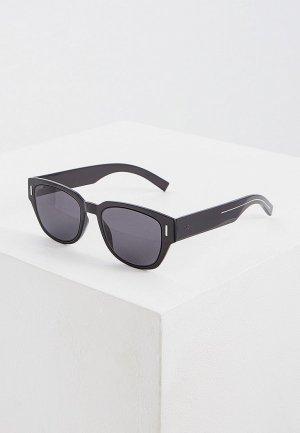 Очки солнцезащитные Christian Dior Homme DIORFRACTION3 807. Цвет: черный