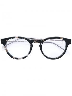 Tortoiseshell-effect glasses Balmain. Цвет: чёрный
