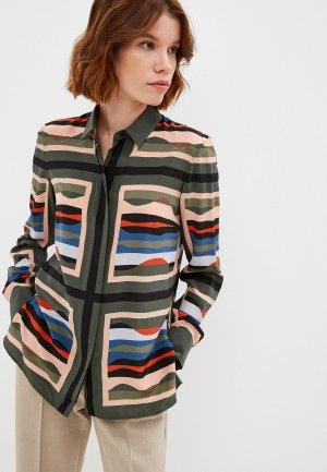 Блуза Akris Punto. Цвет: разноцветный