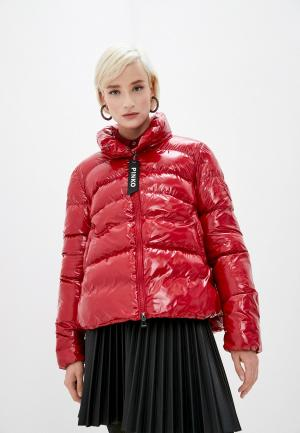 Куртка утепленная Pinko. Цвет: красный