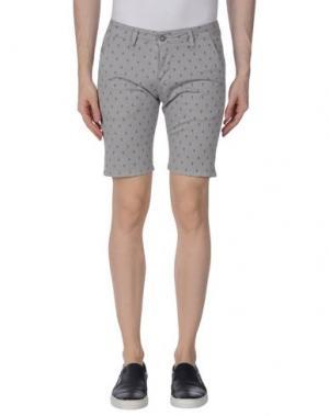 Повседневные шорты EXCLUSIVE. Цвет: серый