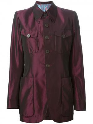 Пиджак на пуговицах Jean Paul Gaultier Pre-Owned. Цвет: розовый