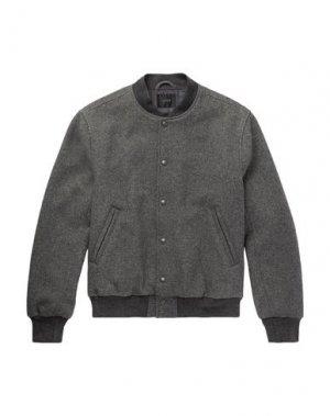 Куртка J.CREW. Цвет: свинцово-серый