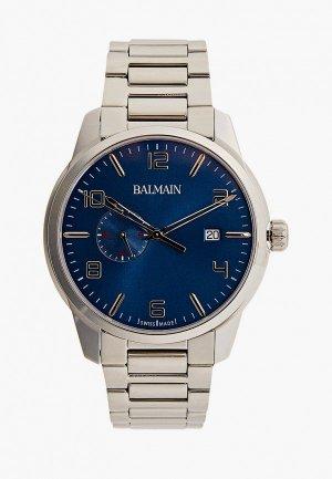 Часы Balmain Madrigal GMT 24h. Цвет: серебряный