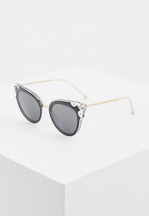 Очки солнцезащитные Dolce&Gabbana DG4340 675/87. Цвет: черный