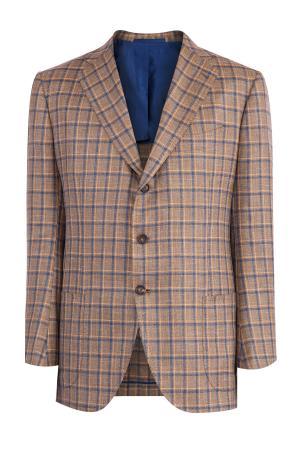 Пиджак CESARE ATTOLINI. Цвет: коричневый