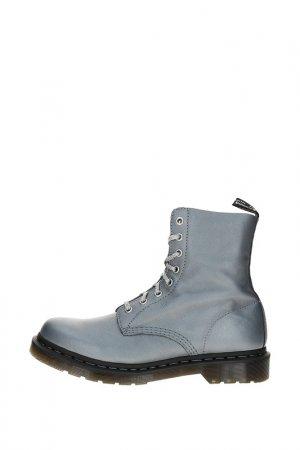 Ботинки Dr. Martens. Цвет: gunmetal metallic
