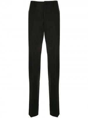 Костюмные брюки прямого кроя CK Calvin Klein. Цвет: черный