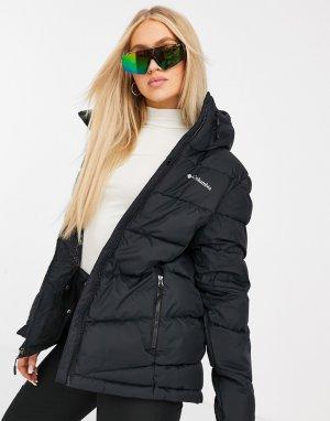 Черная утепленная куртка Abbott Peak-Черный Columbia