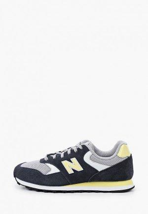 Кроссовки New Balance 393. Цвет: синий