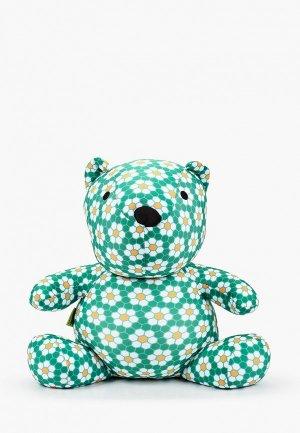 Подушка декоративная Gekoko. Цвет: зеленый