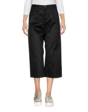Джинсовые брюки-капри NINE:INTHE:MORNING. Цвет: черный