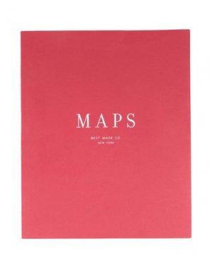 Записная книжка BEST MADE COMPANY. Цвет: красный