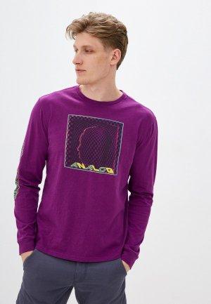 Лонгслив Analog M AG ALLGATE LS. Цвет: фиолетовый