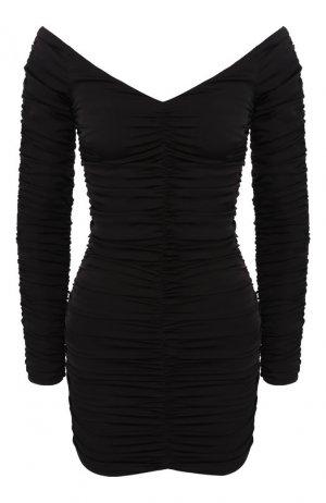 Шелковое платье Alexander Terekhov. Цвет: чёрный
