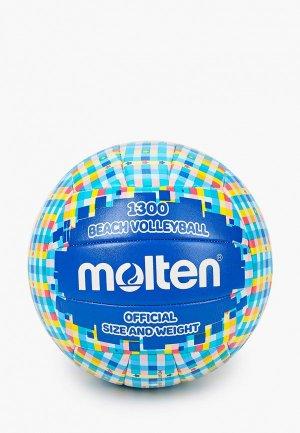 Мяч волейбольный Molten для пляжного волейбола. Цвет: синий