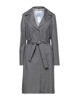 Легкое пальто FABIANA FILIPPI. Цвет: серый