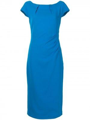 Prospective fitted midi dress Ginger & Smart. Цвет: синий