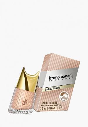 Туалетная вода Bruno Banani Daring Woman 20 мл. Цвет: розовый