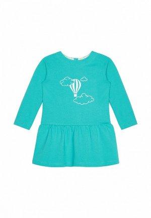 Платье My Junior. Цвет: бирюзовый