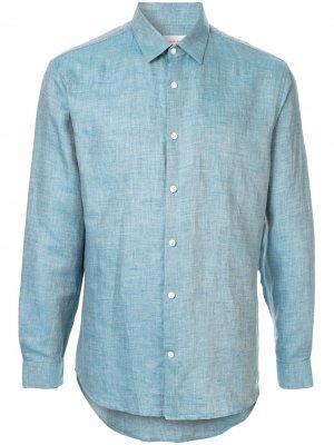 Фактурная рубашка Cerruti 1881. Цвет: синий
