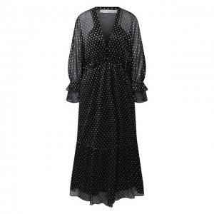 Платье-миди Iro. Цвет: чёрный