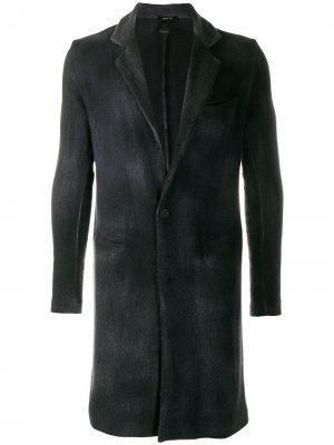 Трикотажное пальто Avant Toi. Цвет: черный