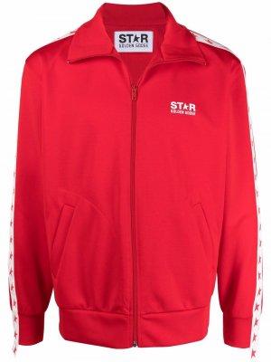 Спортивная куртка Star Collection Golden Goose. Цвет: красный