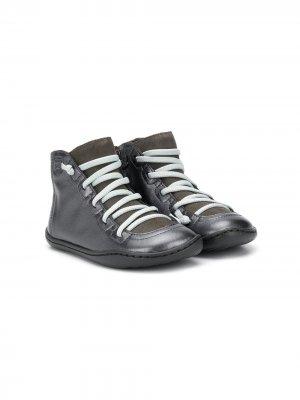 Ботинки Brutus на шнуровке Camper Kids. Цвет: серый