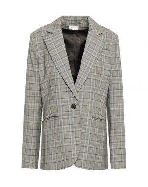 Пиджак MILLY. Цвет: серый