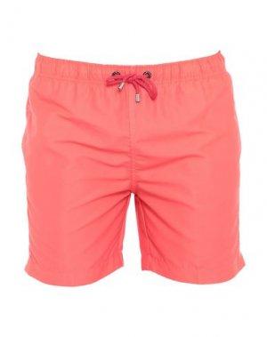 Шорты для плавания FRANKS. Цвет: оранжевый