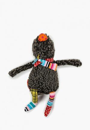 Игрушка мягкая Ebulobo Малыш Волчонок. Цвет: коричневый