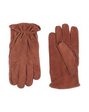 Перчатки SCABAL®. Цвет: коричневый