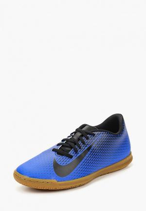 Бутсы зальные Nike Mens BravataX II (IC) Indoor-Competition Football Boot. Цвет: синий