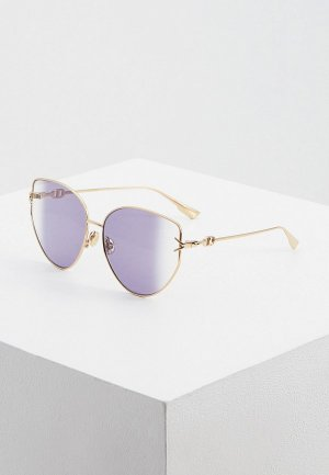 Очки солнцезащитные Christian Dior DIORGIPSY1 000. Цвет: фиолетовый