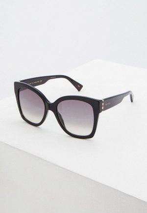 Очки солнцезащитные Gucci GG0459S001. Цвет: черный