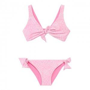 Раздельный купальник Melissa Odabash. Цвет: розовый