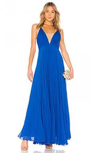 Вечернее платье JILL STUART. Цвет: королевский синий