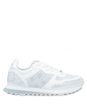 Низкие кеды и кроссовки LIU •JO. Цвет: белый