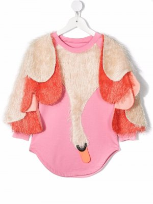 Платье I Can Fly ограниченной серии WAUW CAPOW by BANGBANG. Цвет: розовый
