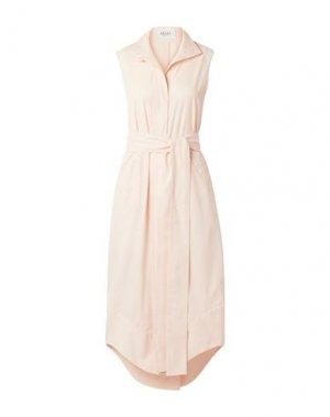 Платье длиной 3/4 ARIAS. Цвет: светло-розовый