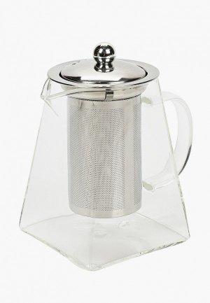 Чайник заварочный Walmer SPIRIT, 0.8л.. Цвет: прозрачный