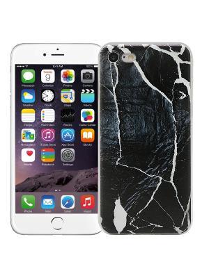 Чехол для iPhone 7 Total black Kawaii Factory. Цвет: черный, белый