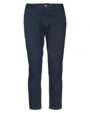 Повседневные брюки DR. DENIM JEANSMAKERS. Цвет: темно-синий