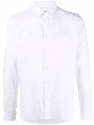 Рубашка с длинными рукавами и заостренным воротником Grey Daniele Alessandrini. Цвет: белый