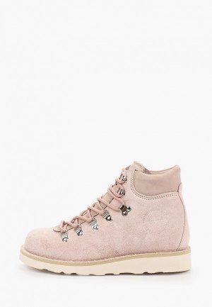 Ботинки Gardenia Copenhagen. Цвет: розовый