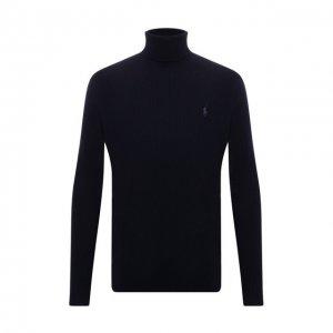 Шерстяной свитер Polo Ralph Lauren. Цвет: синий