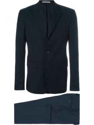 Классический костюм Kenzo. Цвет: синий