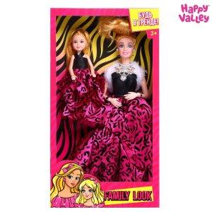 Кукла-модель с дочкой family look Happy Valley