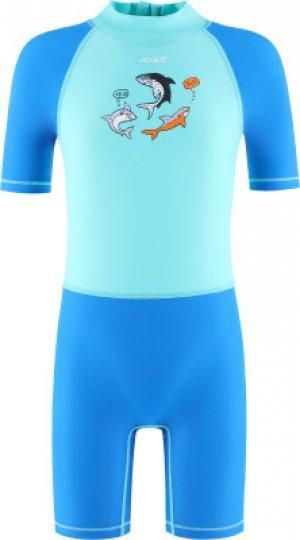 Плавательный костюм для мальчиков , размер 116 Joss. Цвет: голубой